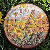 Для дома и интерьера ручной работы. Ярмарка Мастеров - ручная работа Термометр садовый. Handmade.