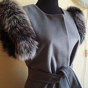 Одежда handmade. Livemaster - original item Vest with natural edge. Handmade.