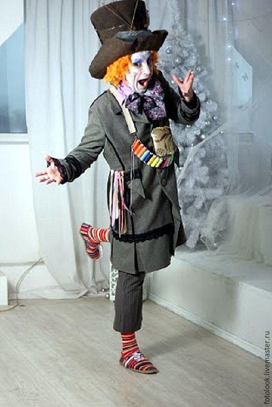 Карнавальные костюмы ручной работы. Ярмарка Мастеров - ручная работа. Купить костюм Безумный Шляпник. Handmade. Комбинированный, костюм для фотосессии