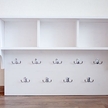 Мебель ручной работы. Ярмарка Мастеров - ручная работа Вешалка из массива сосны. Handmade.