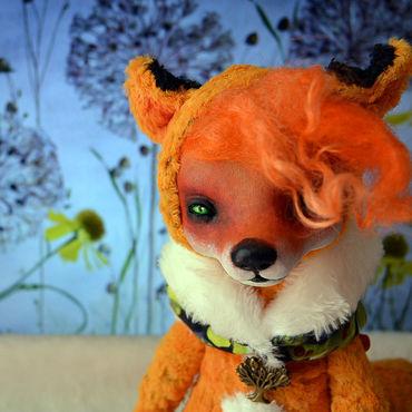 Куклы и игрушки ручной работы. Ярмарка Мастеров - ручная работа лиса Лизэль. Handmade.