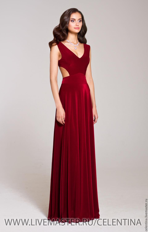 Вечерние платья цвета марсала москва