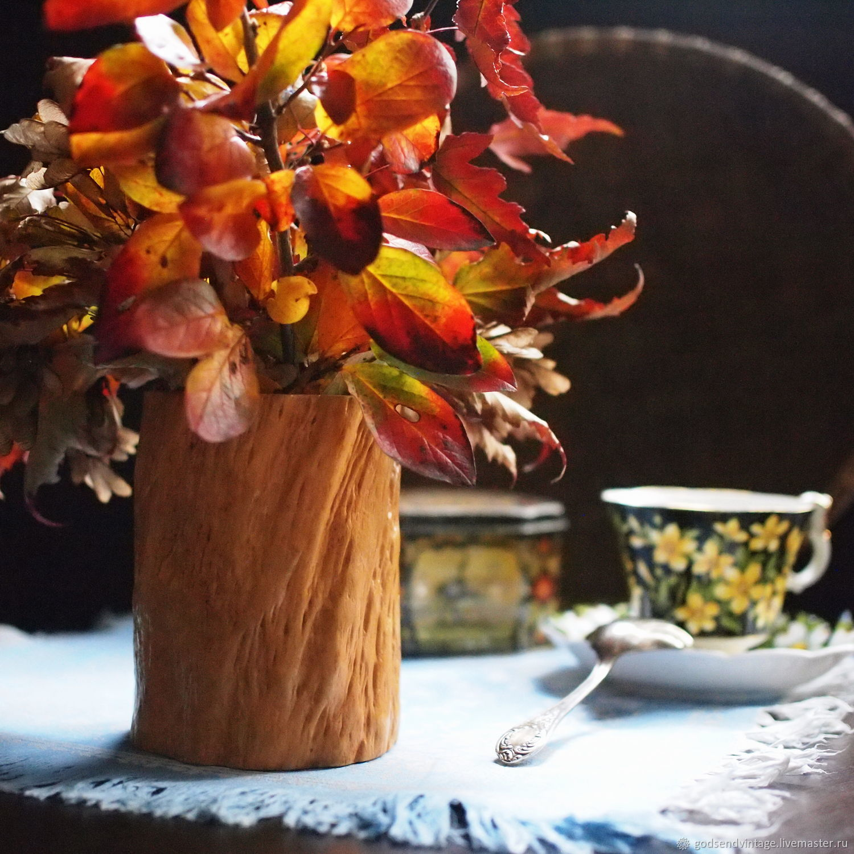 Винтаж: Карандашница деревянная, винтаж, Предметы интерьера винтажные, Санкт-Петербург,  Фото №1