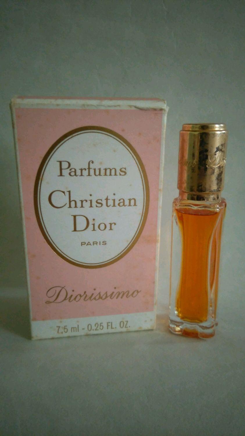 Винтаж: Diorissimo Christian Dior 7,5 мл чистейшие духи, Духи винтажные, Минеральные Воды,  Фото №1