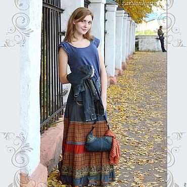 Одежда ручной работы. Ярмарка Мастеров - ручная работа Минус 20% Юбка Лисичка. Handmade.