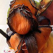 """Украшения ручной работы. Ярмарка Мастеров - ручная работа Ирис """"Гавайская ночь"""". Handmade."""