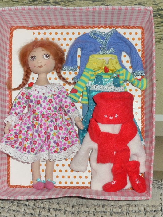 Куклы тыквоголовки ручной работы. Ярмарка Мастеров - ручная работа. Купить Кукла для игр Злата. Handmade. Комбинированный, подарок, девочке