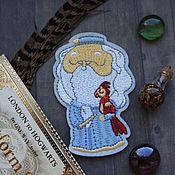 Материалы для творчества handmade. Livemaster - original item Thermal patch Dumbledore. Handmade.
