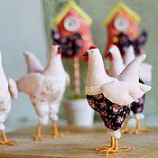 Куклы и игрушки ручной работы. Ярмарка Мастеров - ручная работа Курочка текстильная. Handmade.