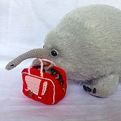 Куклы и игрушки handmade. Livemaster - original item Hand Knitted echidna, Knitted Toy, Christmas present, echidnas family. Handmade.
