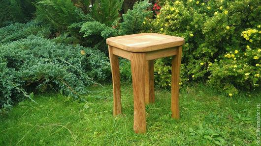 Мебель ручной работы. Ярмарка Мастеров - ручная работа. Купить Табурет из массива дуба.. Handmade. Комбинированный, массив дуба, стулья
