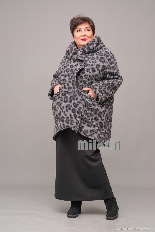 Coat lined with Italian felted wool Art. .4551, Coats, Kirov,  Фото №1