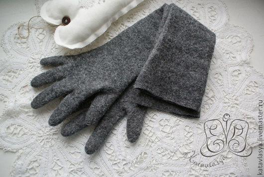 """Варежки, митенки, перчатки ручной работы. Ярмарка Мастеров - ручная работа. Купить Длинные перчатки из коллекции """"ОГОНЬ-БАБА"""". Handmade."""