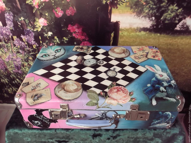Чемодан для маленькой Алисы