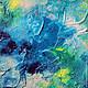 Абстракция ручной работы. Абстрактная живопись. Venus.. Анна. Ярмарка Мастеров. Мятный, абстрактная картина, богиня