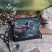 Канцелярские товары ручной работы. Ярмарка Мастеров - ручная работа Блокнотик сказочный. Handmade.