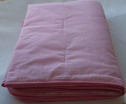 Пледы и одеяла ручной работы. Ярмарка Мастеров - ручная работа. Купить Детское одеяло розовое (осталось цвета светлого персика). Handmade.