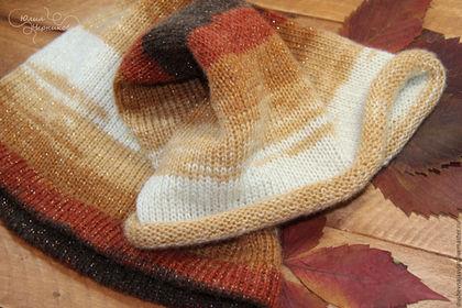 Шарфы и шарфики ручной работы. Ярмарка Мастеров - ручная работа. Купить Снуд вязаный