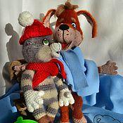 Куклы и игрушки ручной работы. Ярмарка Мастеров - ручная работа Кот и Пес. Handmade.