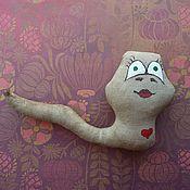 Куклы и игрушки ручной работы. Ярмарка Мастеров - ручная работа Змейка Яшма. Handmade.