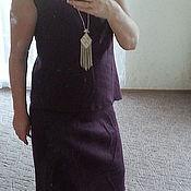 """Одежда ручной работы. Ярмарка Мастеров - ручная работа Комплект """" Deep Purple"""". Handmade."""