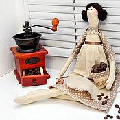 Куклы и игрушки ручной работы. Ярмарка Мастеров - ручная работа Кофейная тильда. Handmade.