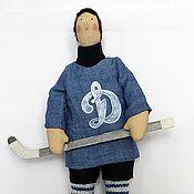 """Куклы и игрушки ручной работы. Ярмарка Мастеров - ручная работа Хоккеист """"Мистер Д"""". Handmade."""