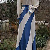 Одежда ручной работы. Ярмарка Мастеров - ручная работа Комплект юбка с блузой Волна. Handmade.