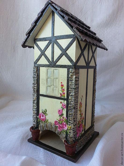 Чайный домик РОЗОВЫЕ КУСТЫ  Анастасия   (Decor-art)