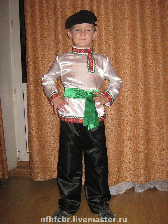 Как сделать своими руками русский народный костюм