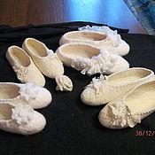 """Обувь ручной работы. Ярмарка Мастеров - ручная работа тапочки """"очарование"""". Handmade."""
