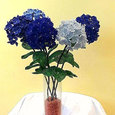 Цветы и флористика ручной работы. Ярмарка Мастеров - ручная работа Гортензия - цветные шары. Handmade.