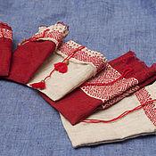 Подарки к праздникам ручной работы. Ярмарка Мастеров - ручная работа Льняные мешочки для чего угодно. Handmade.