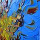Репродукции ручной работы. Картина маслом по мотиву. Винсент Ван Гог. Тутовое дерево. Ксения Дубинина (Жукова). Ярмарка Мастеров.