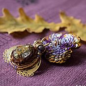 Украшения handmade. Livemaster - original item Paired brooches