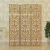 Для дома и интерьера handmade. Livemaster - original item Screen carved BELLO. Handmade.