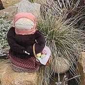 Куклы и игрушки ручной работы. Ярмарка Мастеров - ручная работа Берегиня Прасковея и в подарок сбор душицы. Handmade.