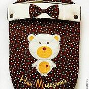 """Работы для детей, ручной работы. Ярмарка Мастеров - ручная работа Конверт для новорожденного """"Мишка"""". Handmade."""