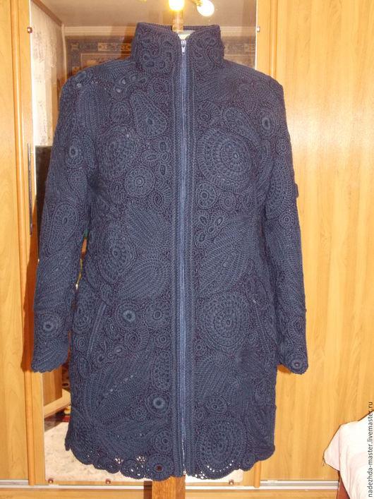 Верхняя одежда ручной работы. Ярмарка Мастеров - ручная работа. Купить Пальто вязаное Элегант, пальто демисезонное, пальто осеннее. Handmade.