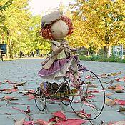 Куклы и игрушки ручной работы. Ярмарка Мастеров - ручная работа Мишель. Осенняя прогулка.... Handmade.
