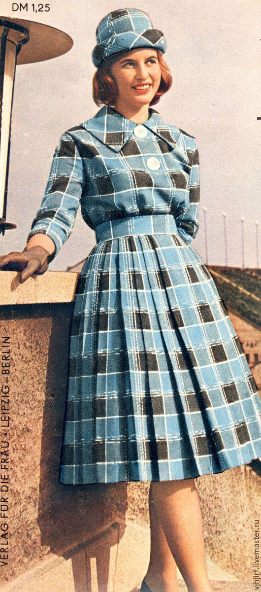 Шитье ручной работы. Ярмарка Мастеров - ручная работа. Купить Выкройки из журнала Praktische mode 1960-х. Handmade.