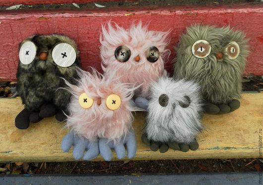 """Игрушки животные, ручной работы. Ярмарка Мастеров - ручная работа. Купить Игрушки """"Совята"""". Handmade. Сова, мягкая игрушка"""