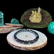 Украшения handmade. Livemaster - original item Bracelet made from natural hematite. Handmade.