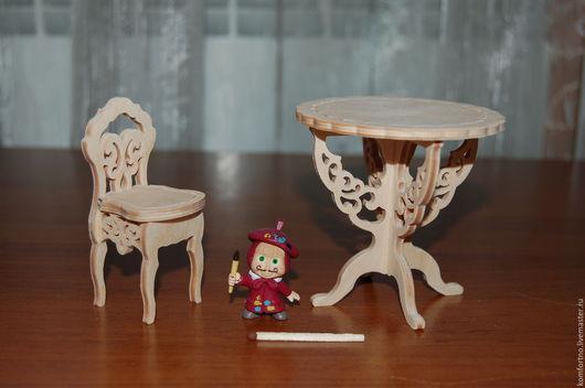 Кукольная мебель `МИКРО`. Набор.