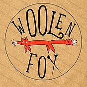 """Дизайн и реклама ручной работы. Ярмарка Мастеров - ручная работа Логотип """"Woolen Fox"""". Handmade."""