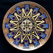 Посуда ручной работы. Ярмарка Мастеров - ручная работа Тарелка декоративная Star of Cairo. Handmade.