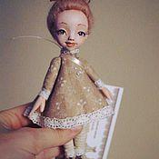 """Куклы и игрушки ручной работы. Ярмарка Мастеров - ручная работа Сувенирная куколка из серии """"Девочки бывают разные"""". Handmade."""