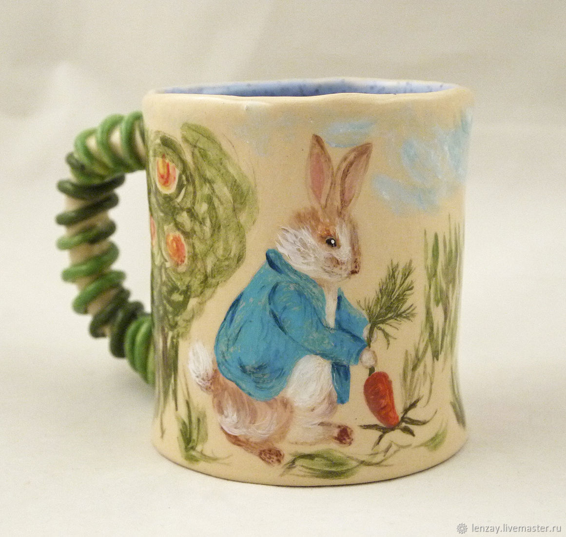 A Cup of 'Peter Rabbit and his friends', Children\'s tableware, Moscow,  Фото №1