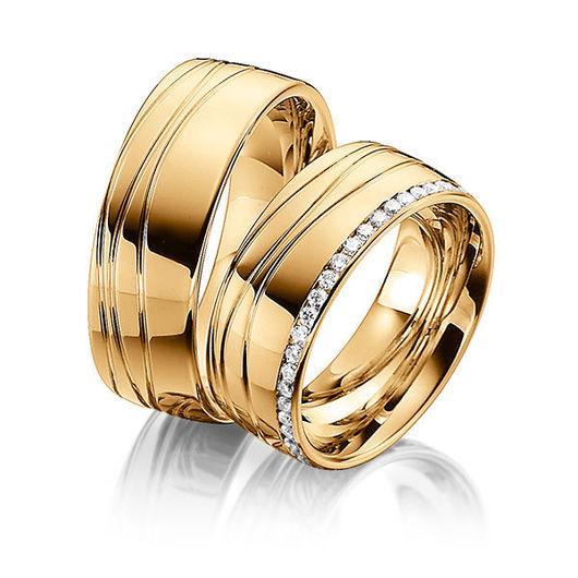 Свадебные украшения ручной работы. Ярмарка Мастеров - ручная работа. Купить Обручальные кольца Premium 17-061 NEW. Handmade.