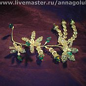 Свадебный салон ручной работы. Ярмарка Мастеров - ручная работа Хрустальная орхидея. Handmade.